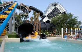 Rapids Water Park Slide