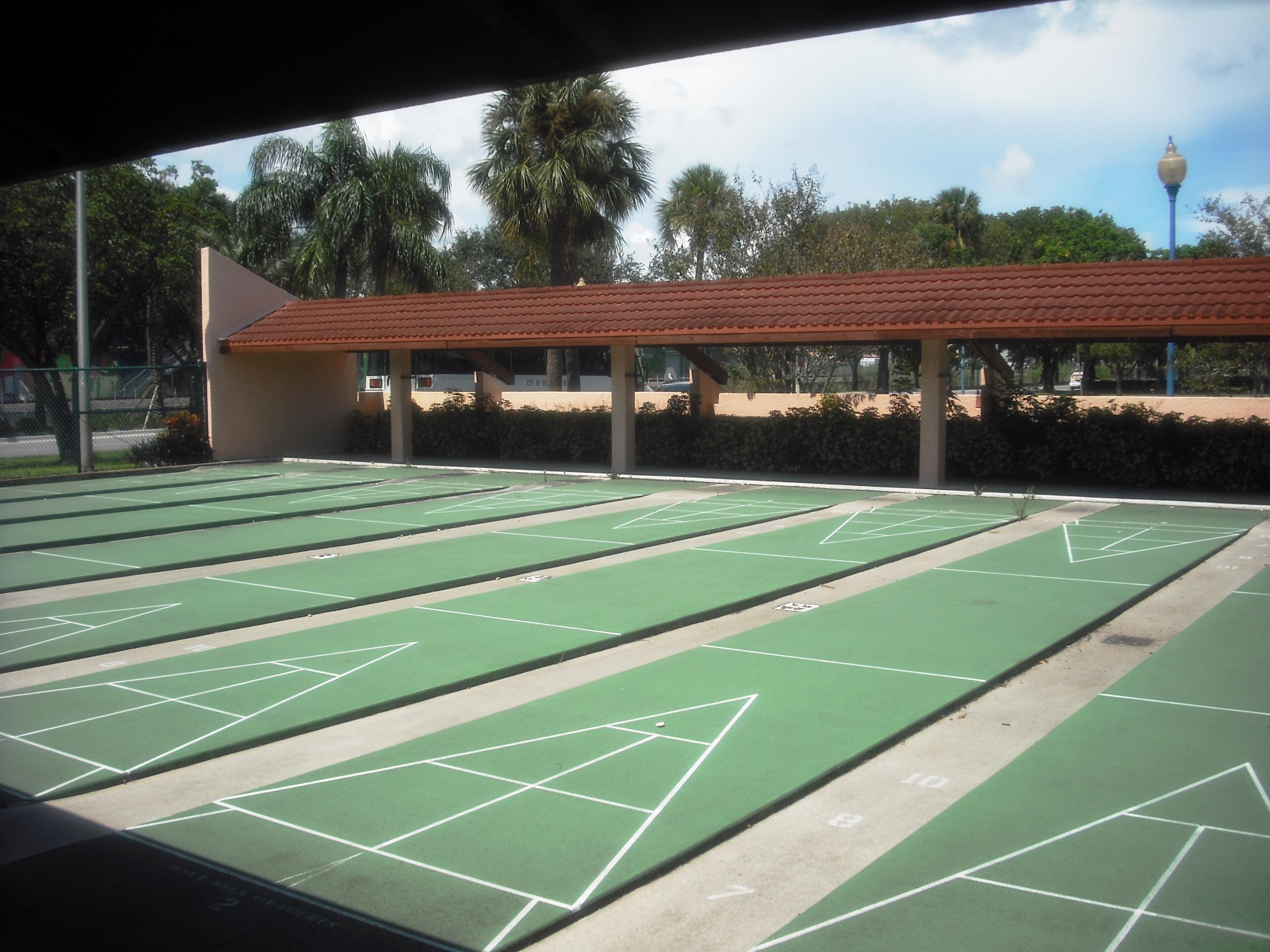 Shuffleboard Court | West Palm Beach Parks