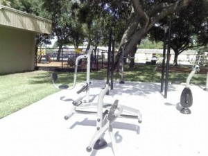 Westgate Park Fitness Area