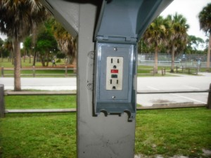 Electrical Outlet at Pak