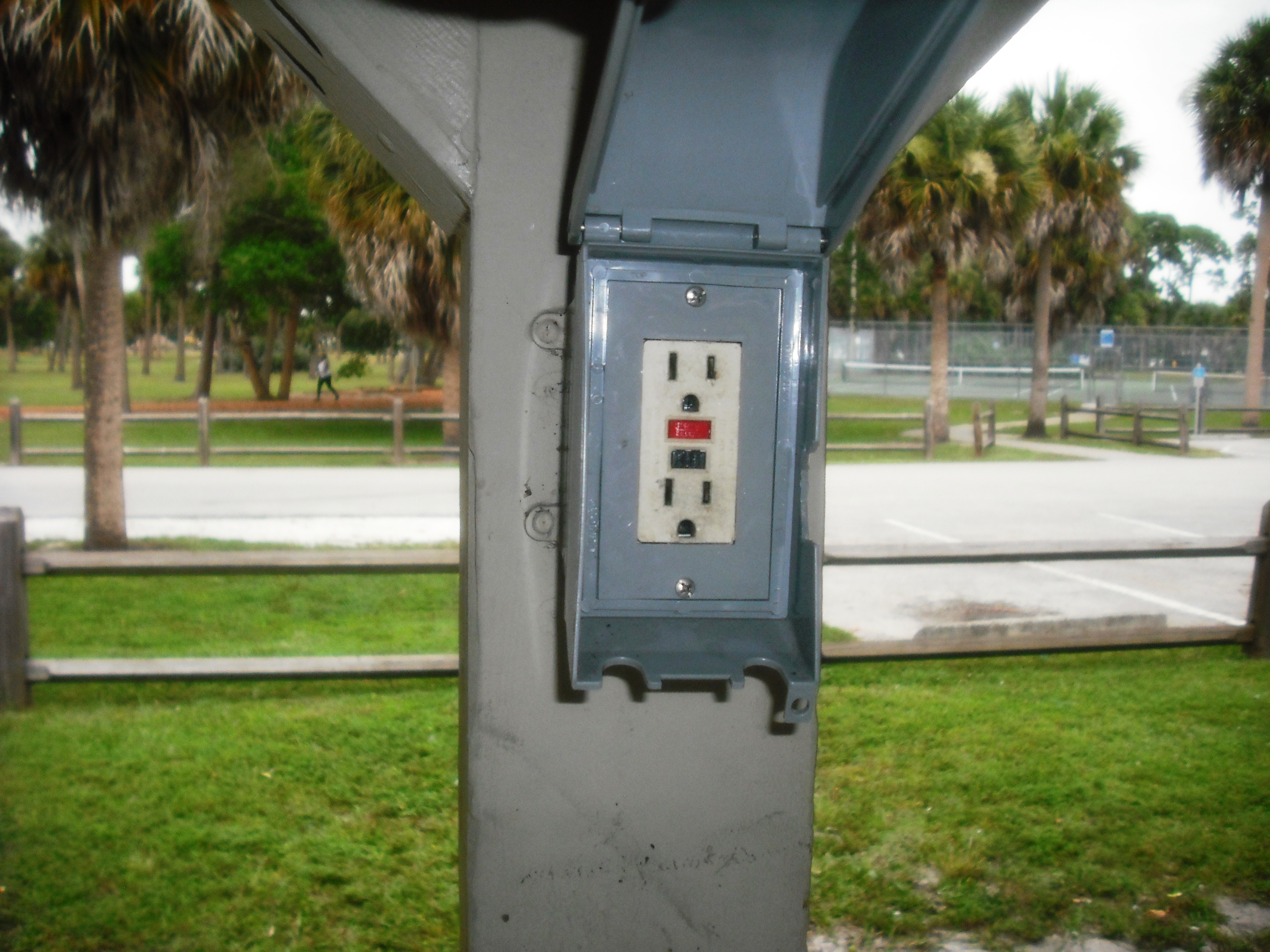 Electrical Outlet at Haverhill Park