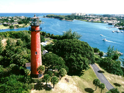 Jupiter Lighthouse Inlet
