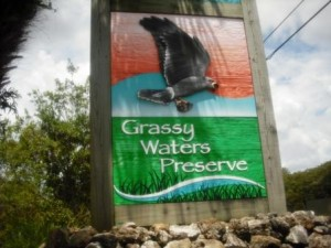 Grassy Waters Entry Sign