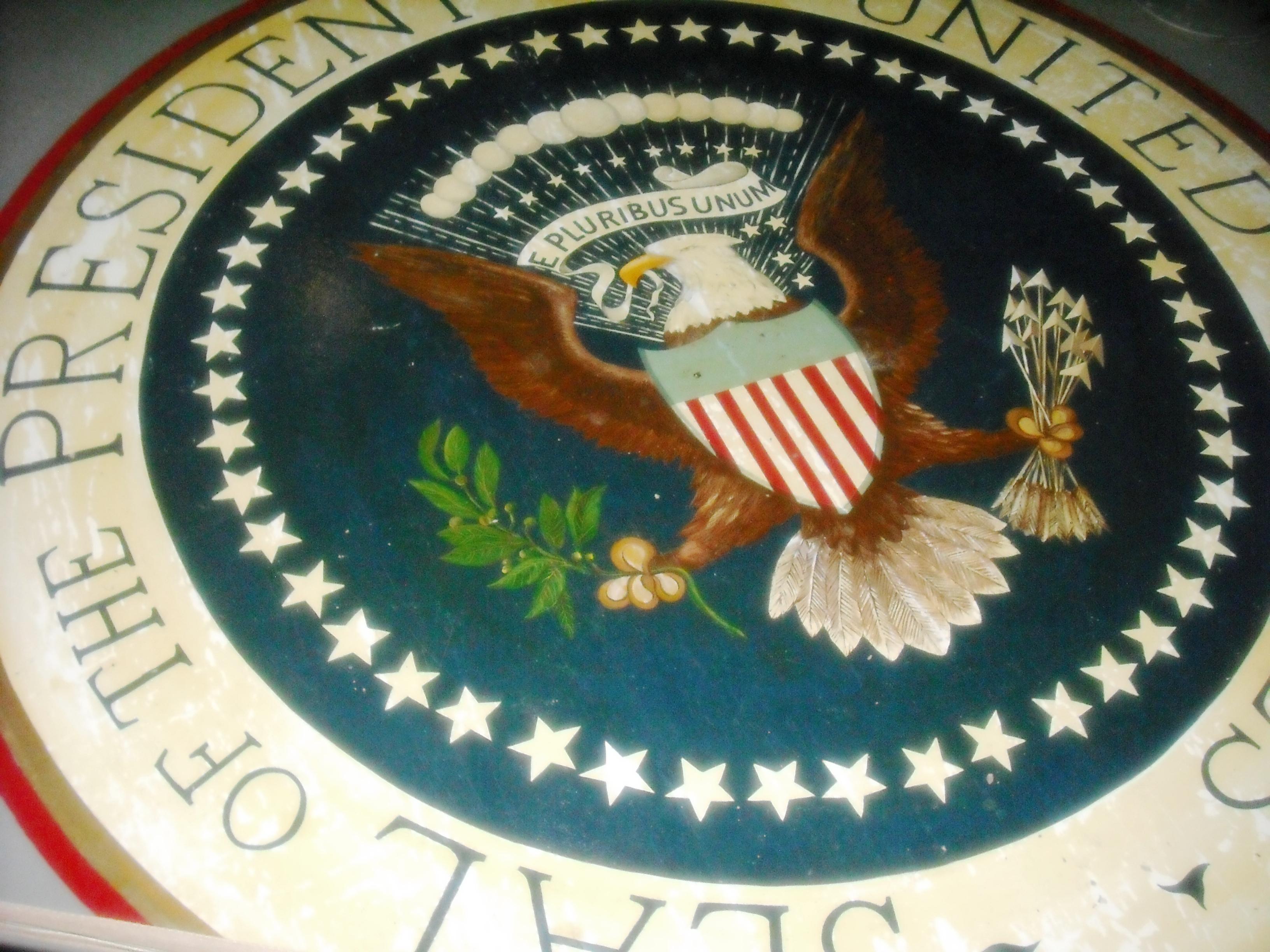 JFK Bunker Presidential Seal