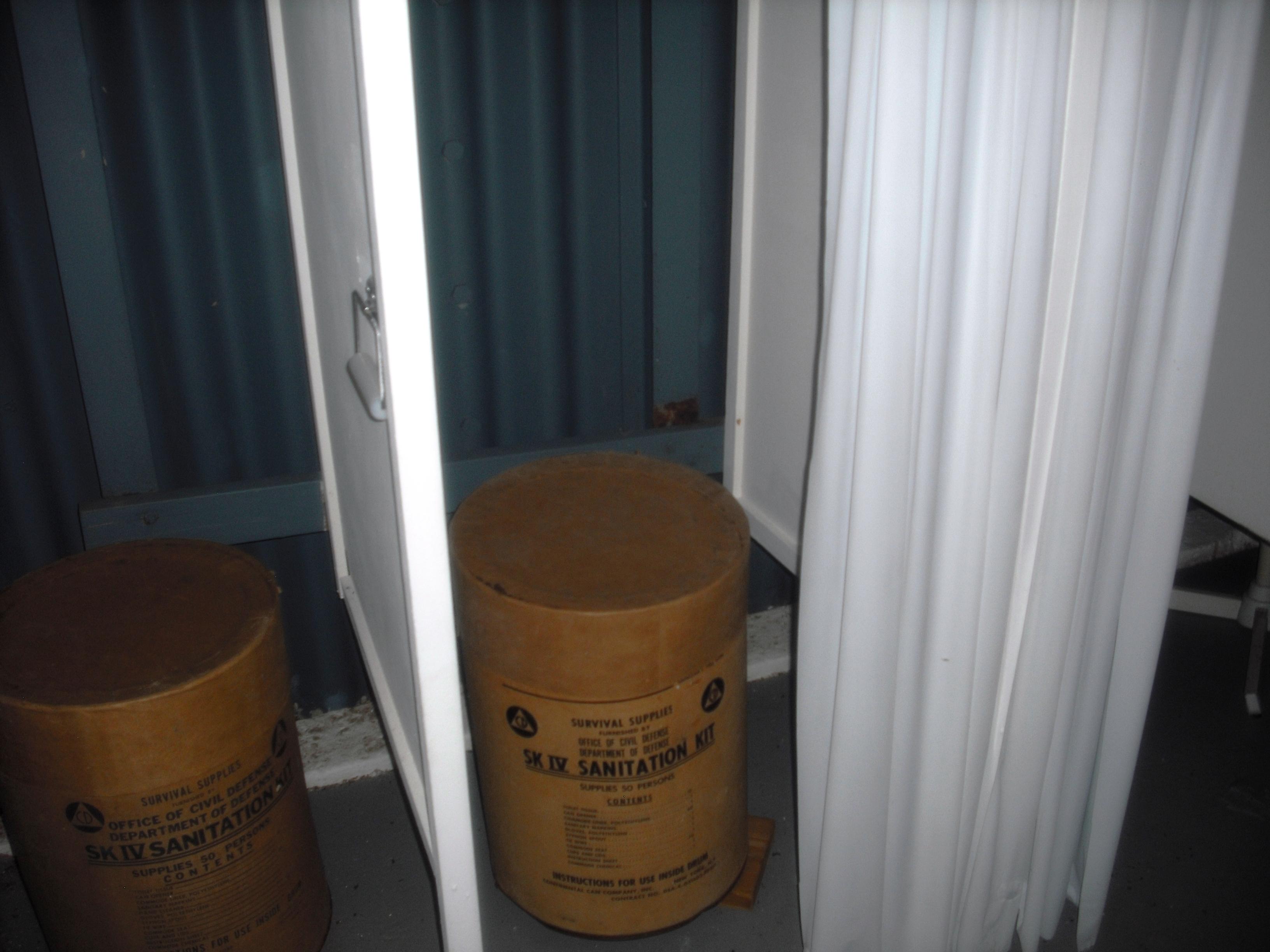 JFK Bunker Toilets