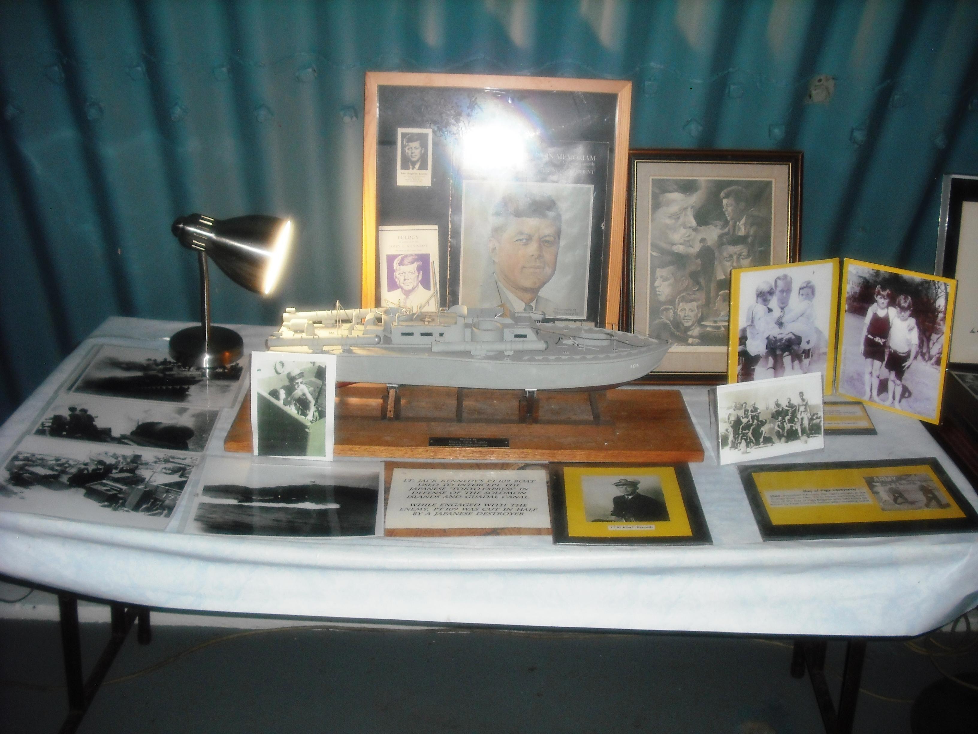 JFK Bunker memorabilia