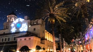 CityPlace Christmas snow