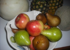 bowl of fruits  001