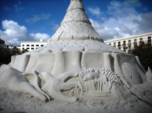 Sand Sculpture WPB Waterfront 011