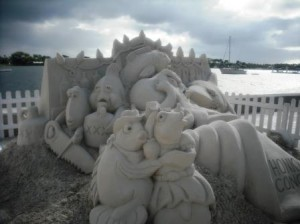 Sand Sculpture WPB Waterfront 016