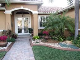 florida front entry landscape