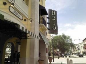 CityPlace Brio Restaurant