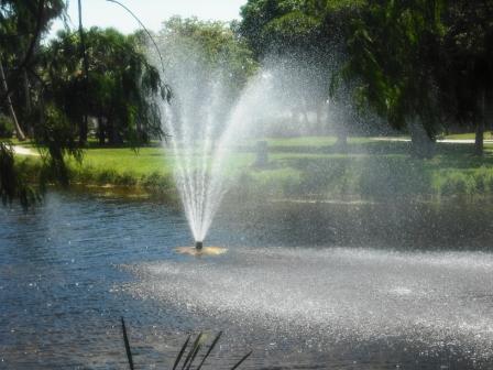 Dreher Park fountain 002