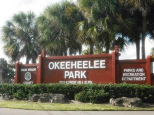 Okeeheelee Park Sign