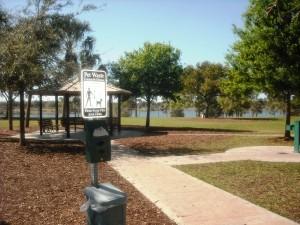 Pooch Pine Dog Park Clean Up Station