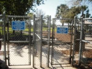 Pooch Pine Dog Park Gates