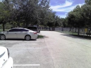 Pooch Pines Dog Park Parking