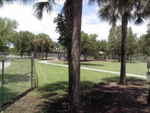 Pooch Pines Dog Park Paved Walkway