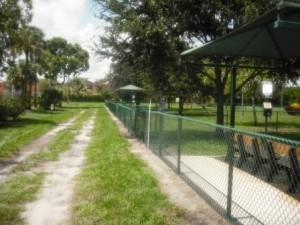 Village Paws Dog Park Fence