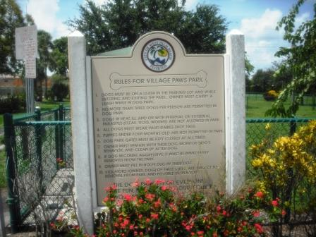 Village Paws Dog Park WPB Rules