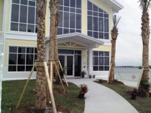 Manatee Lagoon Center entrance