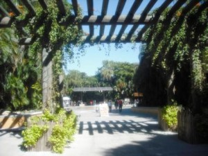 Palm Beach Zoo Entrance