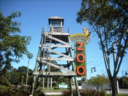 Palm Beach Zoo Entry Sign
