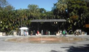 Palm Beach Zoo Fountain