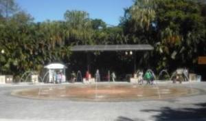 Palm Beach Zoo Fountain