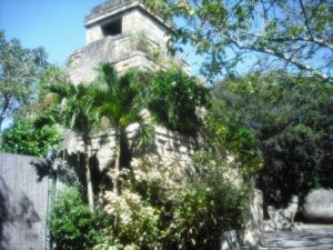 Palm Beach Zoo Mayan Temple