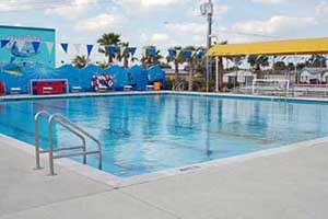 Barracuda Bay Aquatic Center Pool