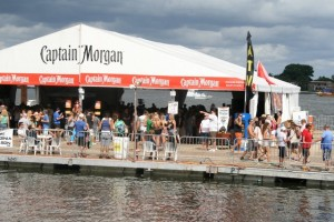 Captain Morgan barge Sunfest WPB