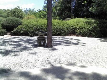Morikami 2016 raked rock garden