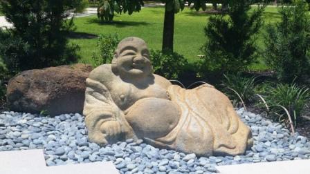 Morikami Buddha sculpture 2016