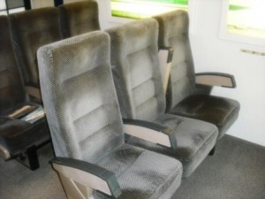 Morikami Museum 2016 Shinkansen Bullet Train Seats