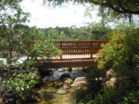 Morikami Museum Bridge