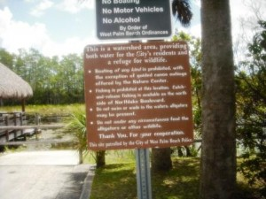 Grassy Waters Regulations