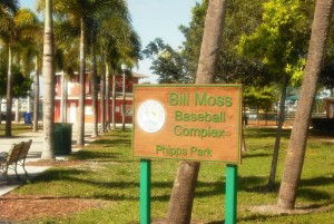 Phipps Park WPB Baseball Complex Sign