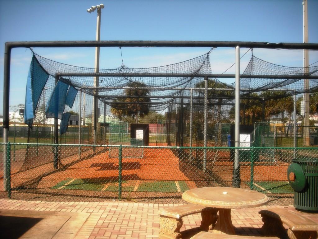 Phipps Park WPB Baseball Practice Area