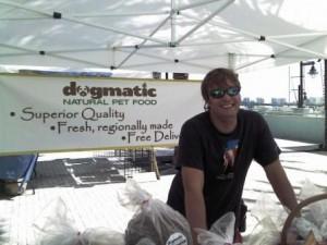Riviera Beach Greenmarket Dogmatic Natural Dog Food