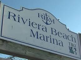 Riviera Beach Marina sign