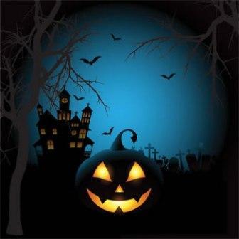 halloween fright night scary pumpkin