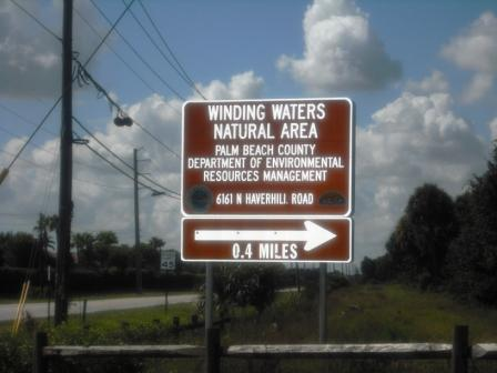 winding-waters-wpb-natural-area-sign