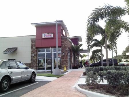 PBIA Travel Plaza Dunkin Donuts