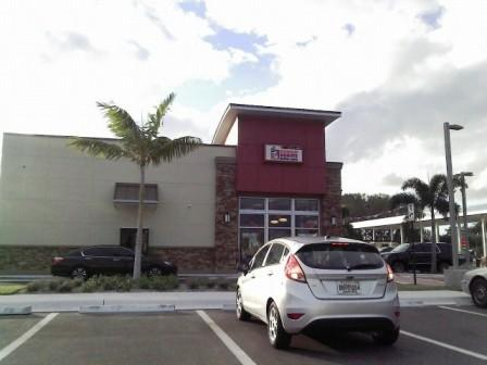 PBIA Travel Station Drive Thru Dunkin Donuts