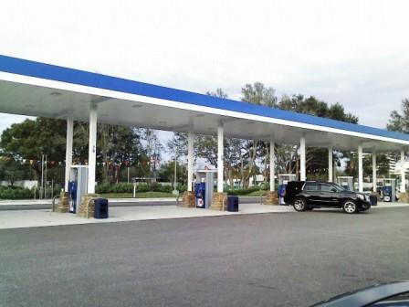 PBIA Travel Station Mobil Gas Station