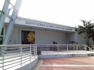 South Florida Science Center and Aquarium entrance