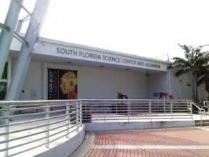 South Florida Science Center and Aquarium entrance