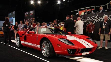 Barrett Jackson Ford-GT-Auction-Block