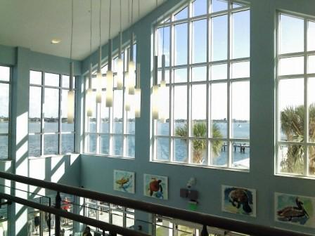 Manatee Lagoon Discovery Center second floor